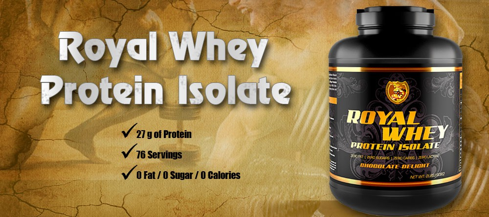 Royal Whey Protein Isolate